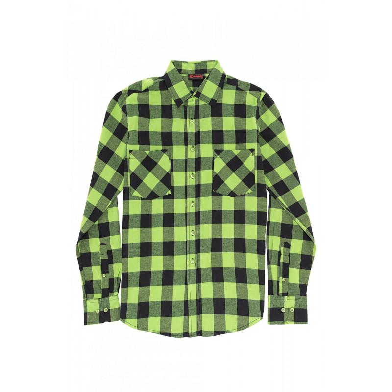 compra especial oficial más nuevo mejor calificado Camisa Cuadros Verde y Negra